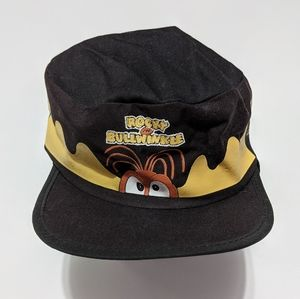 1993 Taco Bell Rocky and Bullwinkle Painters Hat